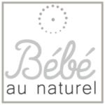 logo bébé au naturel noir et blanc